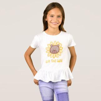 Leo det lejont - flickan rufsar T-tröja Tshirts