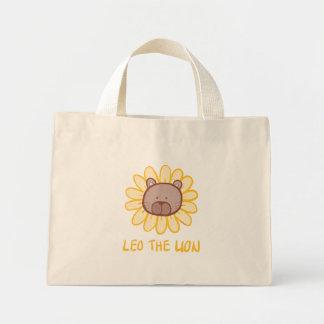 Leo som den lejona totot hänger lös mini tygkasse