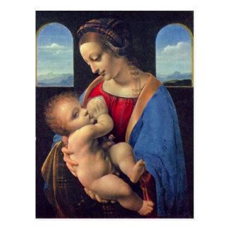 Leonardo Da Vinci - Madonna Vykort