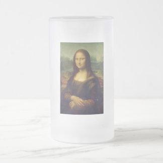 Leonardos Da Vinci Mona Lisa Frostat Ölglas