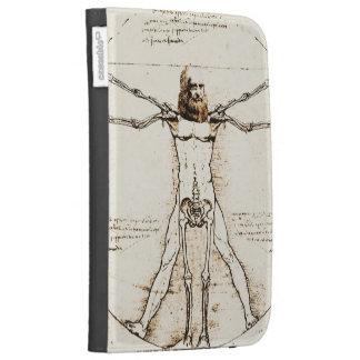 Leonardos Da Vinci Vitruvian mashup + Pappra Venus