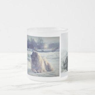 Leonberger frostig mugg