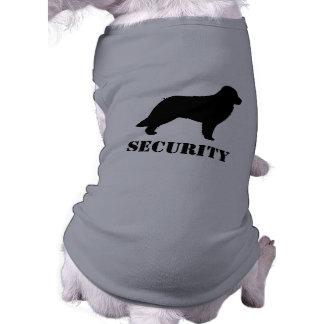 Leonberger hundSilhouette med beställnings- text Husdjurströja