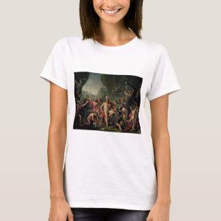 Leonidas på Thermopylae T-shirt