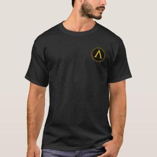 Leonidas som jag svärtar, & guld förseglar tshirts