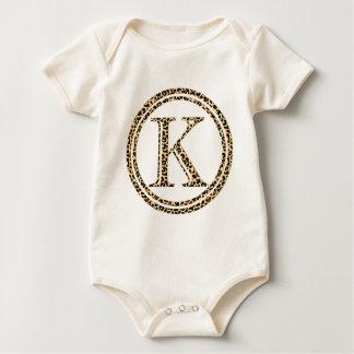 leopardalfabet K Body För Baby