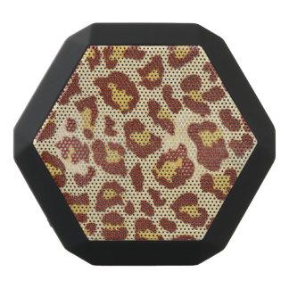 LeopardfläckUltrasuede Look Svart Bluetooth Högtalare