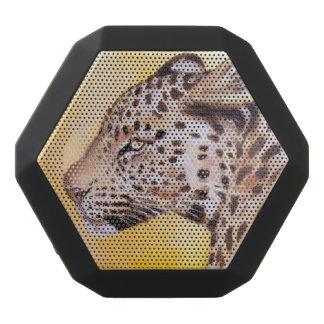Leopardkonst Svart Bluetooth Högtalare
