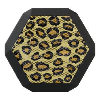 Leopardmönster Svart Bluetooth Högtalare