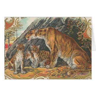 Leopards Hälsningskort