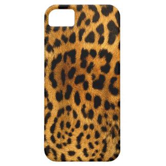 Leopardstrukturfodral iPhone 5 Fodraler