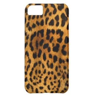 Leopardstrukturfodral iPhone 5C Fodral