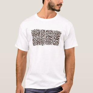 Leopardtryck T shirts | Zazzle.se
