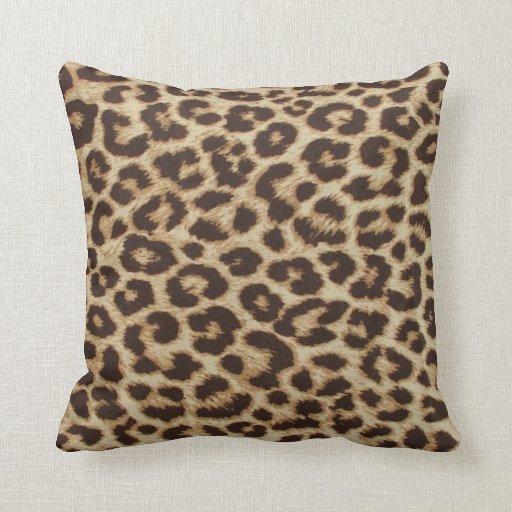 Leopardtrycket kudder prydnadskudde