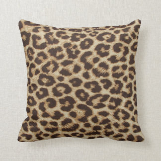 Leopardtrycket kudder prydnadskuddar