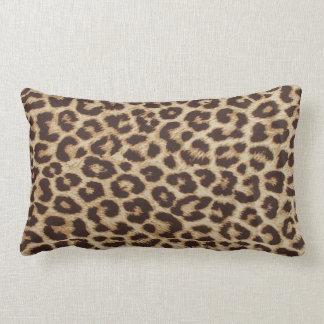 Leopardtrycklumbaren kudder lumbarkudde