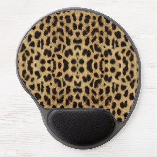 Leopardtryckmusen vadderar gelé musmatta