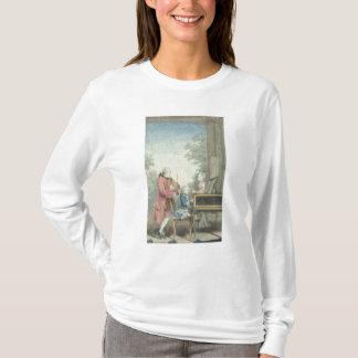 Leopold Mozart och hans barn Wolfgang T-shirts