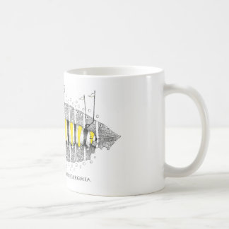 Lepidoptera Pittsburghia-Zazzle Kaffemugg