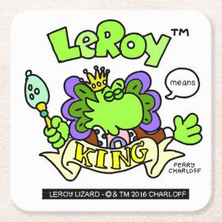 LeRoy ödlaunderlägg Underlägg Papper Kvadrat