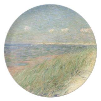 Les Dyn du Zwin, Knokke, 1887 (olja på kanfas) Dinner Plates