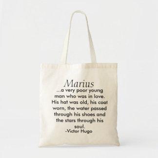 Les Miserables hänger lös: Marius Budget Tygkasse