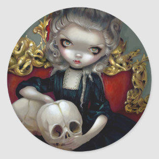 """Les vampyrer: Les Crânes"" klistermärke"