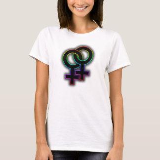 Lesbisk pride t-shirts
