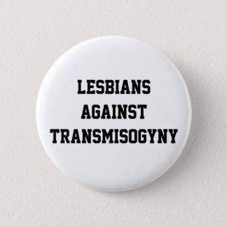 Lesbiskar mot transmisogyny standard knapp rund 5.7 cm