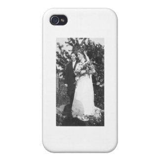 Lesbiskt bröllop Circa 1920 iPhone 4 Cover
