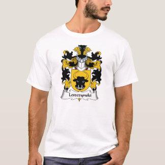 Leszczynski familjvapensköld t shirt