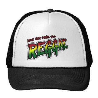 Lets får trevlig till musik för den REGGAEdubDubst Trucker Kepsar