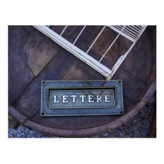 Lettere (brev) vykort
