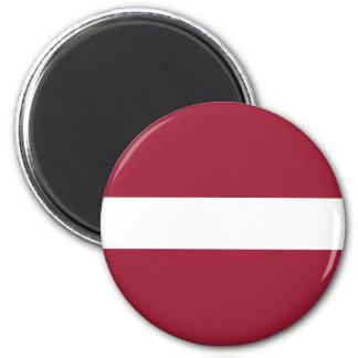 Lettland flaggamagnet kylskåpmagneter