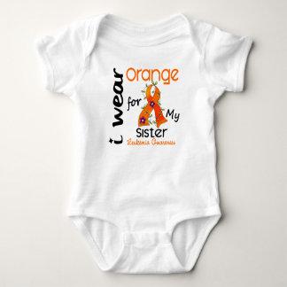 Leukemiaen ha på sig jag orangen för min syster 43 tee shirts