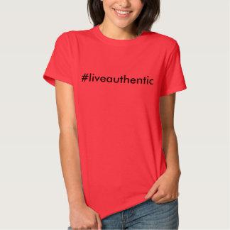 Levande autentisk T-tröja Tröjor