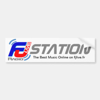 Levande Autocollant FJ radiosände Bildekal