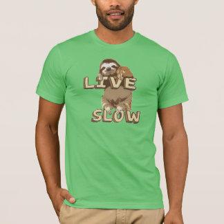 LEVANDE gullig Sloth - SAKTA T-shirt