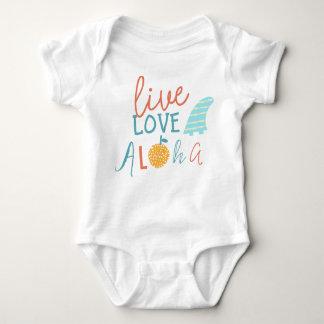 Levande kärlek, aloha t-shirts
