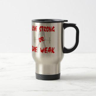 Levande stark eller för matris svag kvinnlig resemugg