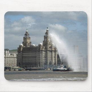 Lever som bygger Liverpool - Mousepad Musmatta