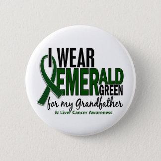 Levercancer ha på sig jag e-grönt för min farfar standard knapp rund 5.7 cm