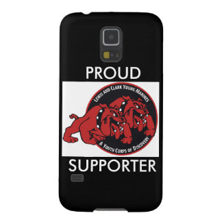 Lewis & Clark ung marin- stolt supporter (svarten) Galaxy S5 Fodral