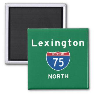 Lexington 75 magnet