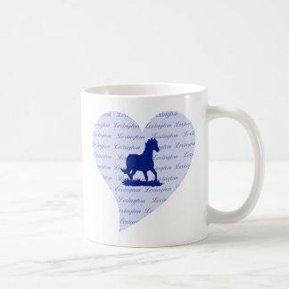Lexington KY häst Kaffemugg