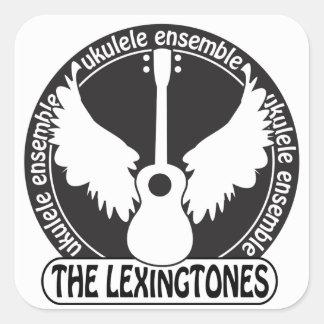 Lexingtones klistermärkelakan fyrkantigt klistermärke