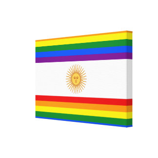 LGBT Argentina Canvastryck