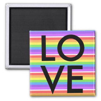 LGBT-bög, lesbisk regnbågekärlek Nagnet Magnet