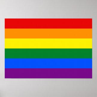 LGBT-flaggaaffisch Poster