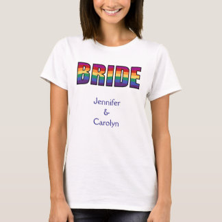 LGBT-gay pridebrud T Shirt